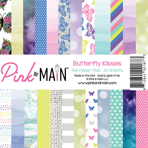 Butterfly Kisses 6x6 Paper Pack