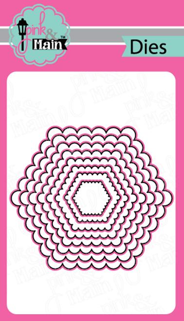Scallop Hexagon Dies