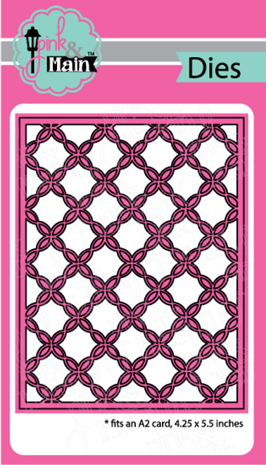 Fancy Lattice Cover Die
