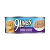 9 Lives Turkey And Cheese Dinner In Gravy Canned Cat Food-5.5-oz, Case Of 24-{L+1}