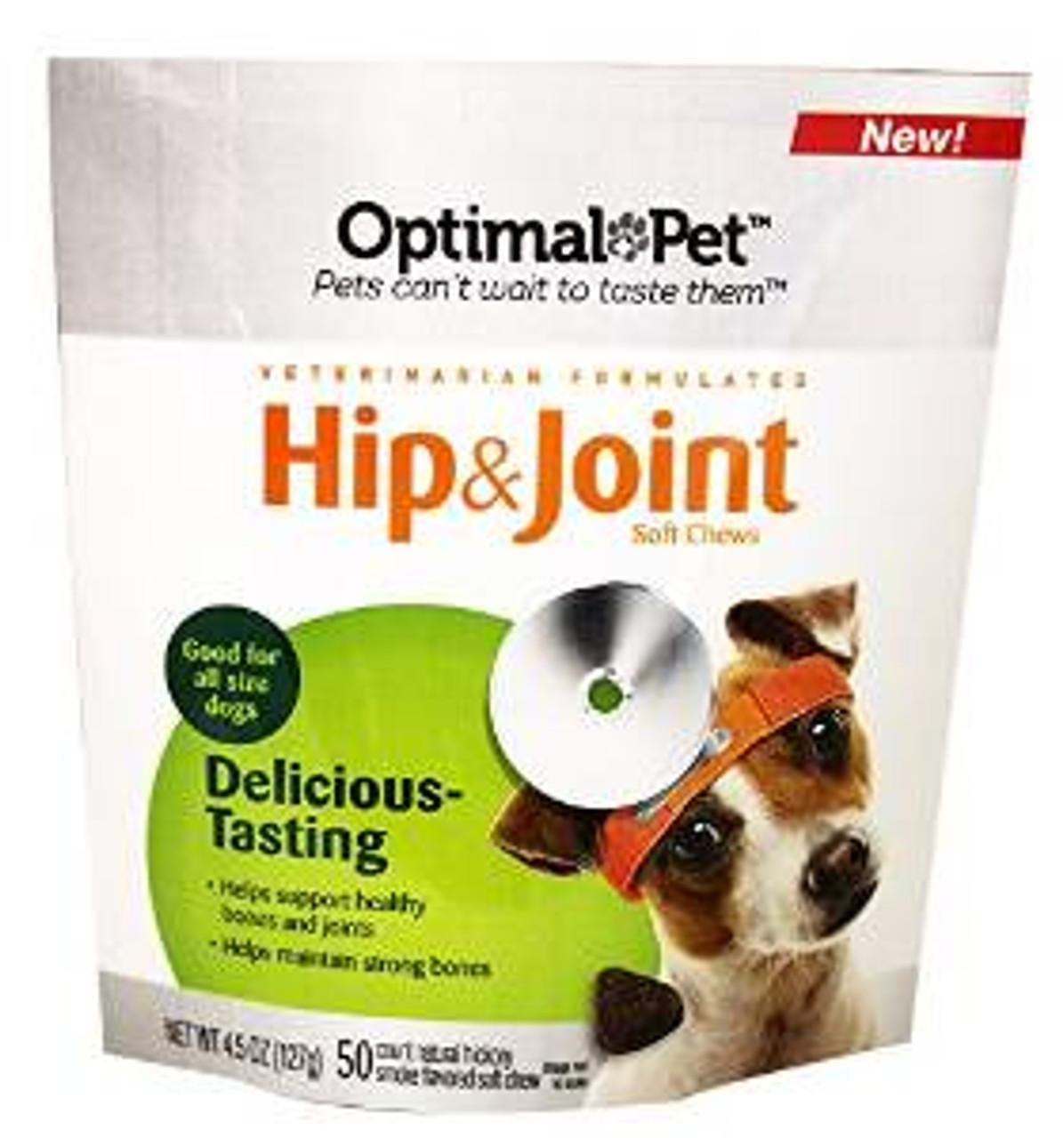 Nutri-vet Optimal Pet Hip & Joint Soft Chews 4 5oz {L+2}