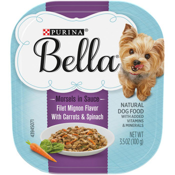 Bella Morsels in Sauce Filet Mignon Dog 12 / 3.5 oz