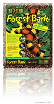 Exo-terra Forest Bark 4 Qt{requires 3-7 Days before shipping out}