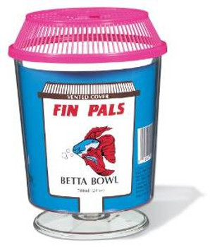 Fin Pals Goldfish/betta Bowl {requires 3-7 Days before shipping out}