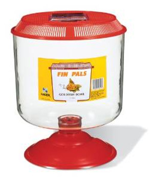 Fin Pals Goldfish Bowl Large {requires 3-7 Days before shipping out}