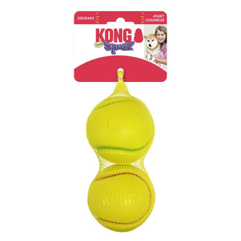 KONG Squeezz Tennis Ball Dog Toy Large