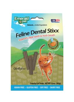 Emerald Pet Dental Stixx Tuna Cat Treats 3.6 oz