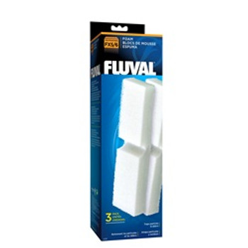 Fluval Filter Foam Block For Fx5 3-pk {requires 3-7 Days before shipping out}