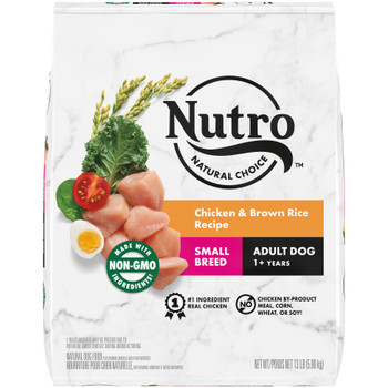 Nutro Products Natural Choice Chicken & Brown Rice Recipe Small Breed Dog Food 13 lb