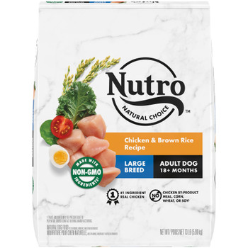 Nutro Products Natural Choice Chicken & Brown Rice Recipe Large Breed Dry Dog Food 13 lb