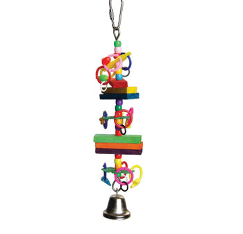 A & E Cages Beads and Blocks Bird Toy 1ea