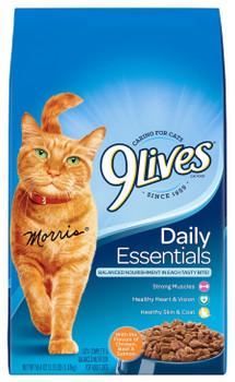 9Lives Daily Essentials Dry Cat Food 3.15 lb