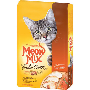 Meow-Mix Tender Centers Salmon and Chicken 3 lb