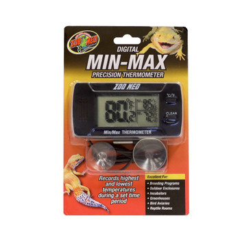 Zoo Med Digital Min-Max Thermometer 1ea