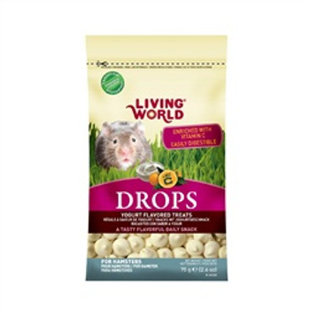 Living World Hamster Treat 2.6oz Yogurt {requires 3-7 Days before shipping out}