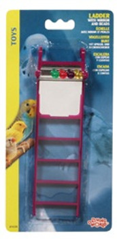 Lw Plastic Ladder W/mirror/beads {requires 3-7 Days before shipping out}