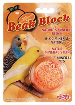 Living World Parakeet Mineral Block {requires 3-7 Days before shipping out}