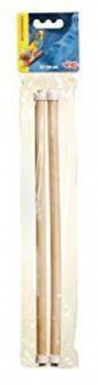 Lw Wooden Perch 12 In 2/pk{requires 3-7 Days before shipping out}