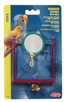 Lw Plastic Mirror Swing W/bell{requires 3-7 Days before shipping out}