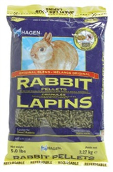 Rabbit Pellets 5# {requires 3-7 Days before shipping out}