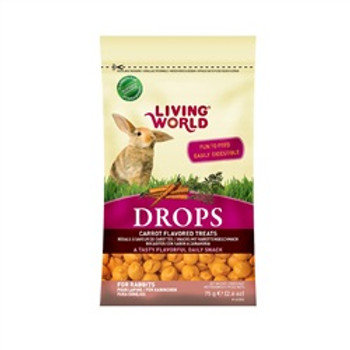 Living World Rabbit Treat 2.6oz Carrot {requires 3-7 Days before shipping out}