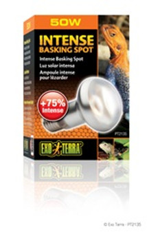 Exo Terra Intense Basking Spot Lamp 50w {requires 3-7 Days before shipping out}