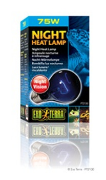 Exo Terra Night Heat Lamp 75w {requires 3-7 Days before shipping out}
