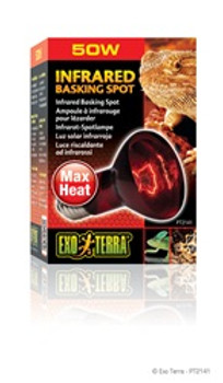 Exo Terra Infrared Basking Spot Lamp 50w {requires 3-7 Days before shipping out}