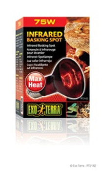 Exo Terra Infrared Basking Spot Lamp 75w {requires 3-7 Days before shipping out}
