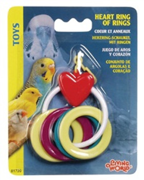 Lw Heart Ring Of Rings {requires 3-7 Days before shipping out}