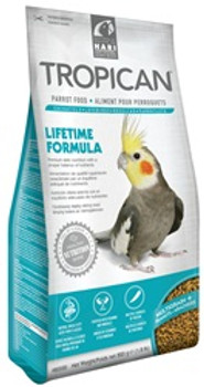 Tropican Lifetime Cockatiel 1.8# {requires 3-7 Days before shipping out}