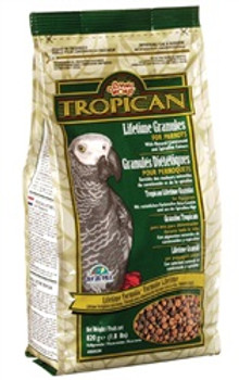Tropican Lifetime Parrot 1.8# {requires 3-7 Days before shipping out}