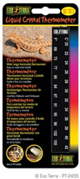 Exo Terra Liquid Crystal Thermometer {requires 3-7 Days before shipping out}