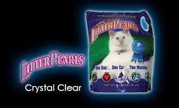ULTRA PETLitter Pearls Crystal Clear Cat Litter 7lb