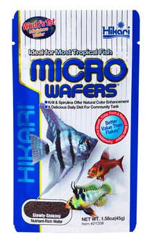 Hikari Tropical Micro Wafers Slow Sinking Wafer 1.58oz