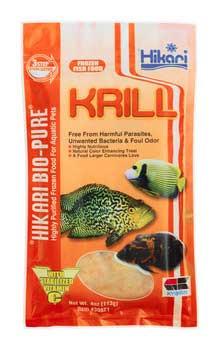 Hikari Biopure Frozen Krill Flat Pack 4oz SD-5