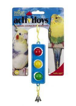 JW Pet Activitoy Traffic Light Bird Toy