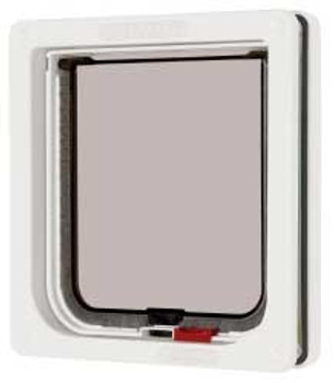 Ani Mate Cat Mate Lockable Cat Flap White