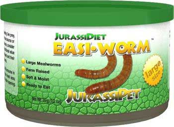Jurassi-diet Easi-worm Large 12 Oz-93829