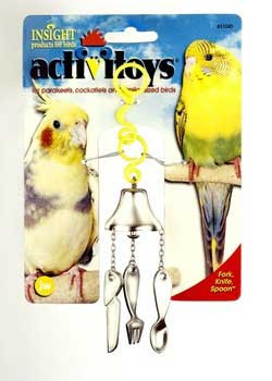 JW Activitoy Bird Toy Fork/knife/spoon