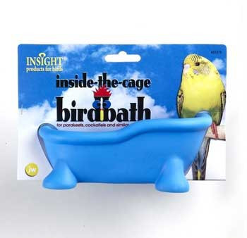 JW Pet Insight In The Cage Bird Bath