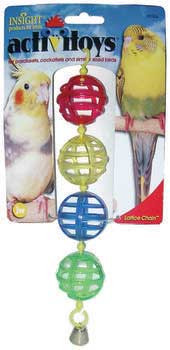 JW Pet Activitoy Lattice Chain Bird Toy