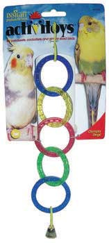 JW Pet Activitoy Olympia Rings Bird Toy
