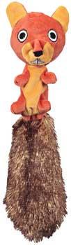 JW Pet Skippy Squirrel Medium 24ea