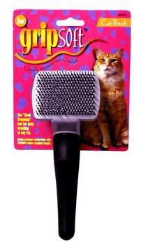 JW Pet Company Gripsoft Cat Small Slicker Brush