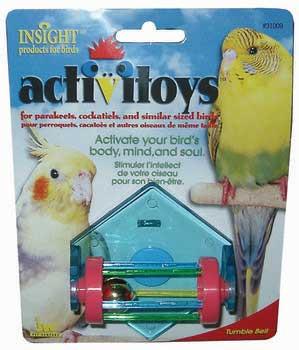 JW Pet Tumble Bell Bird Toy