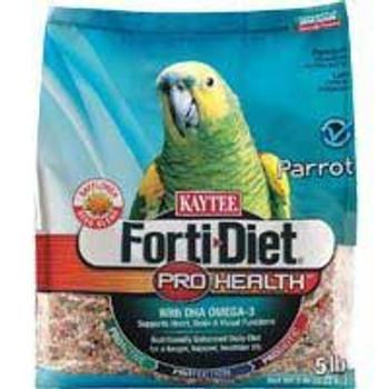 Kaytee Forti-diet Pro Health Parrot W/saff 25lb