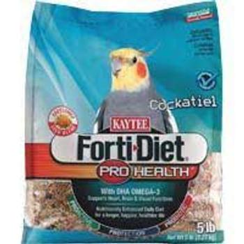 Kaytee Forti-diet Pro Health Cockatiel W/saff 25lb