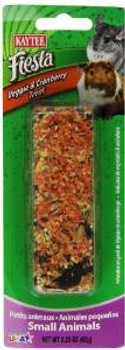 Kaytee Fiesta Vegie/cranberry Small Animal Stick 2.25oz