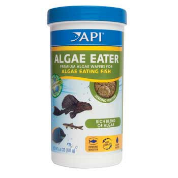 Aquarium Pharmaceuticals Api Algae Eater Algae Wafer 6.4 Oz